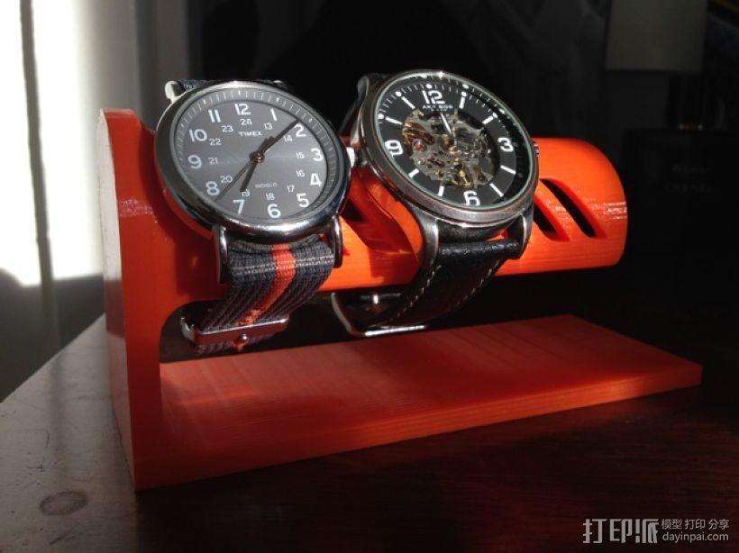 桌面式手表架 3D模型  图1