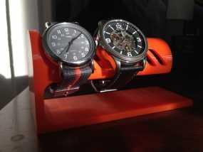 桌面式手表架 3D模型