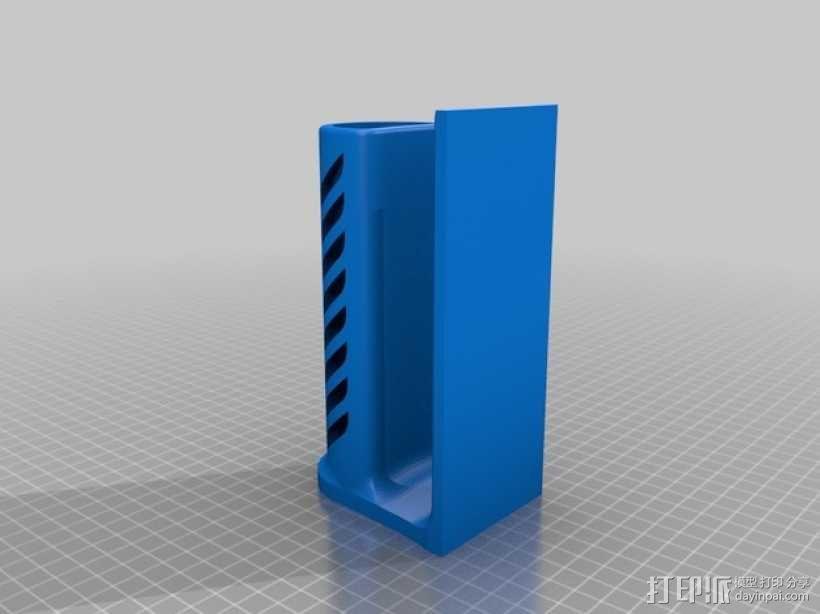 桌面式手表架 3D模型  图2