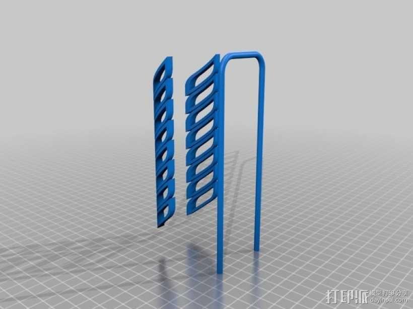 桌面式手表架 3D模型  图4