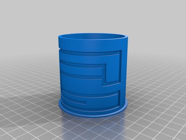 简易迷宫形小盒 3D模型  图2