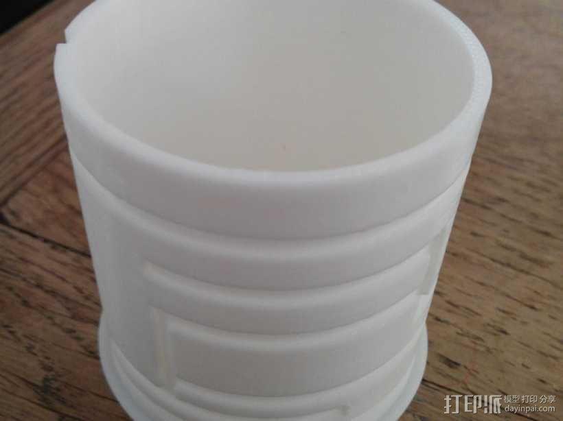 简易迷宫形小盒 3D模型  图1