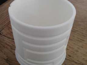 简易迷宫形小盒 3D模型