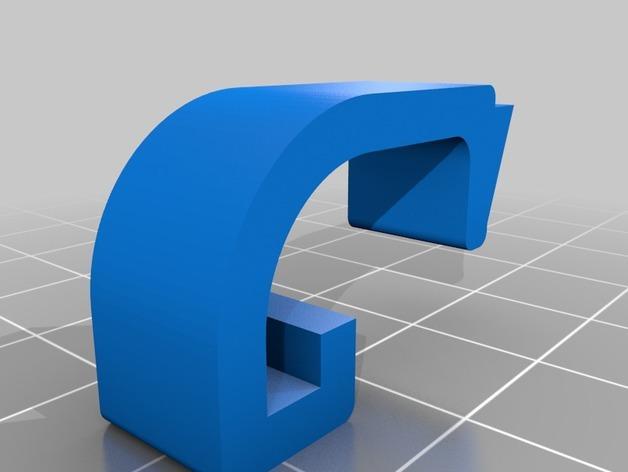 宜家存储盒盖夹 3D模型  图2
