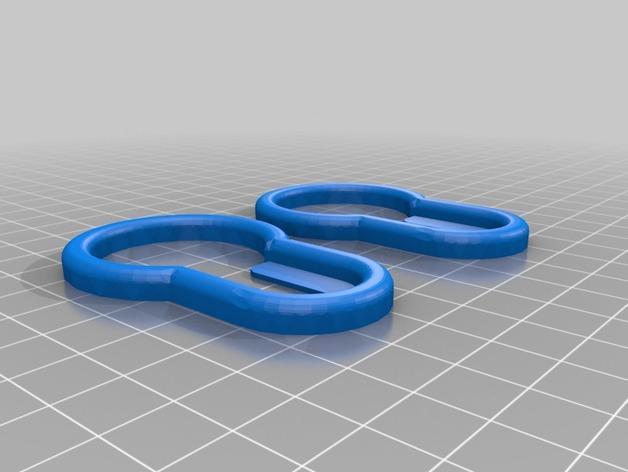 毛巾架 3D模型  图2