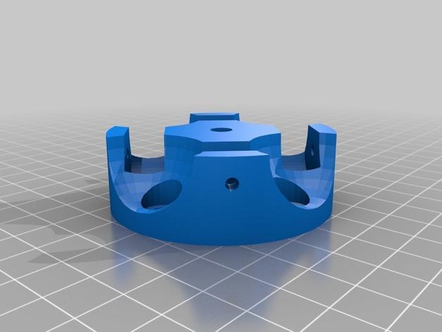 壁挂式香料架 3D模型  图2