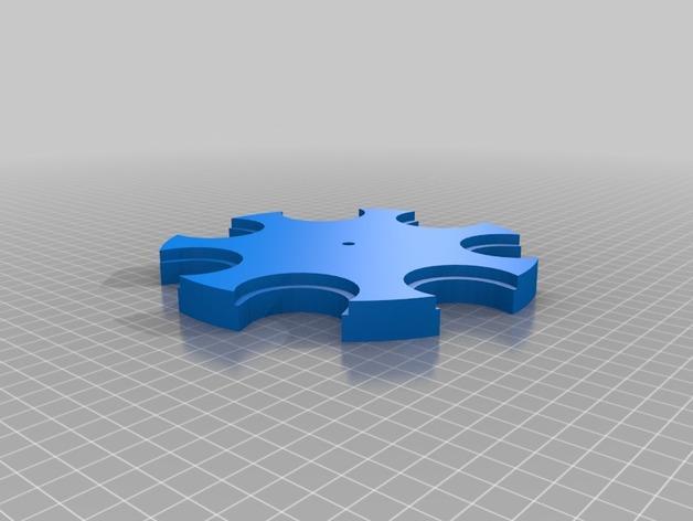 壁挂式香料架 3D模型  图3