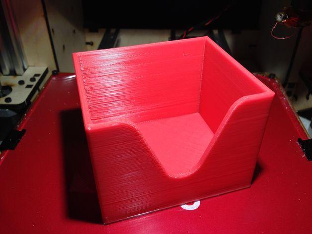 迷你棉签盒 3D模型  图3