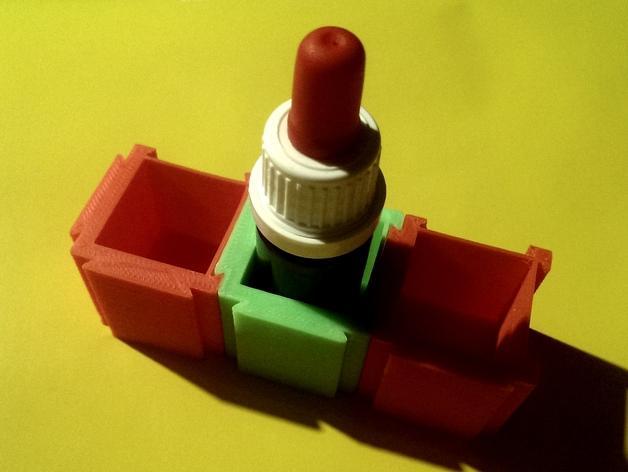 可扩展的方形小盒 3D模型  图4