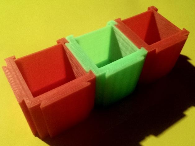 可扩展的方形小盒 3D模型  图5