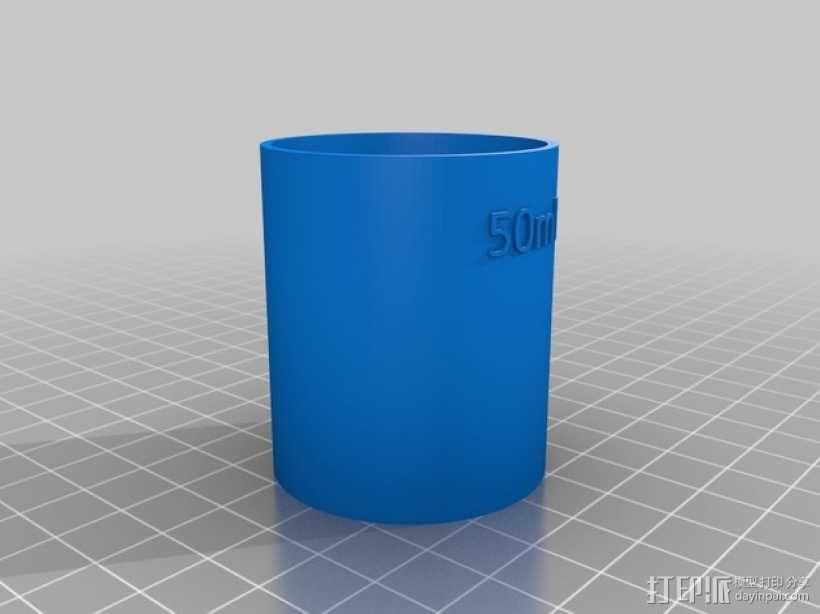 鸡尾酒量杯 3D模型  图3