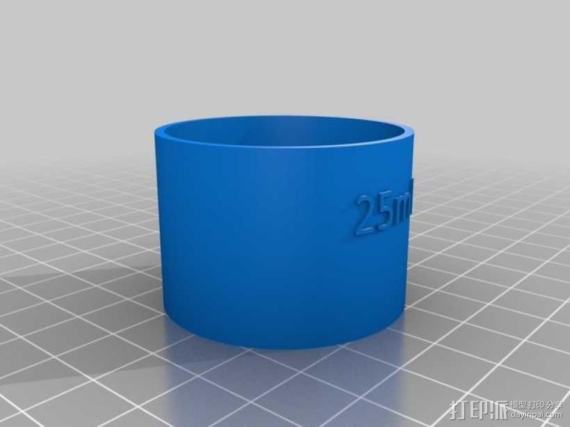 鸡尾酒量杯 3D模型  图2
