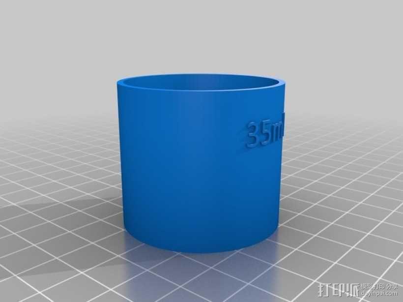 鸡尾酒量杯 3D模型  图4