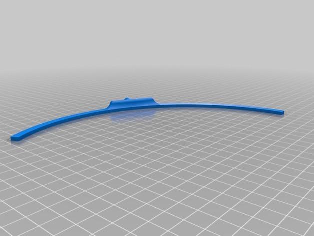 微波炉转盘外环 3D模型  图2