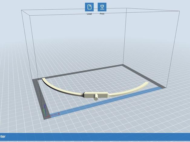 微波炉转盘外环 3D模型  图3