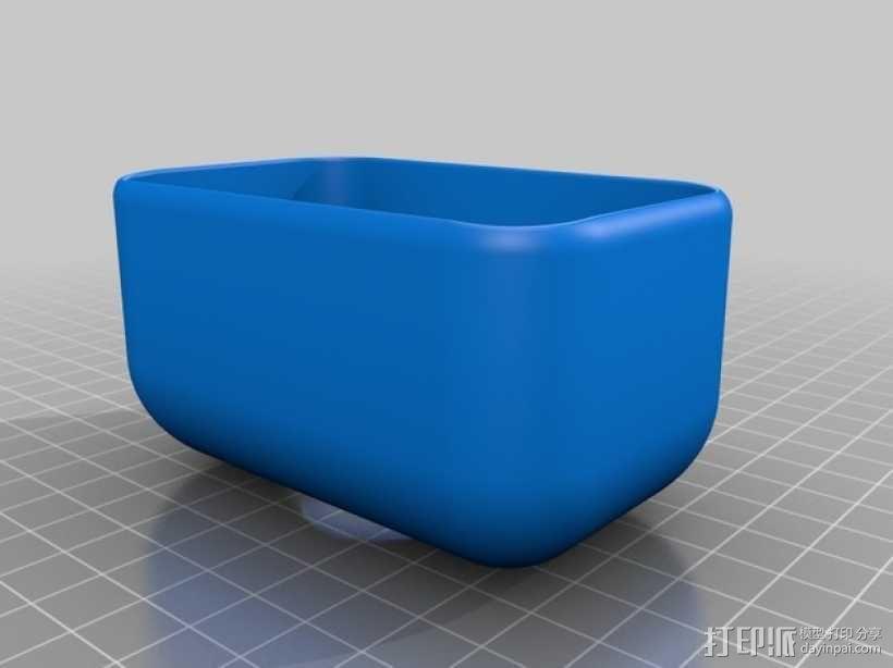 浴室沐浴露架子 3D模型  图2