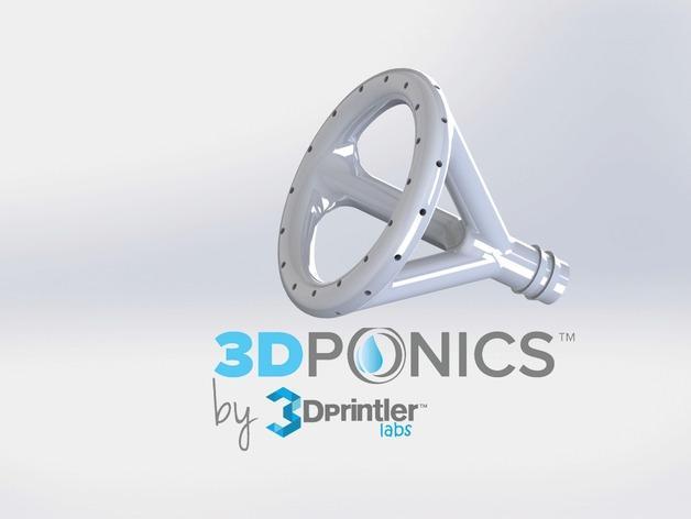 免费水培系统 -- 喷水头 3D模型  图1