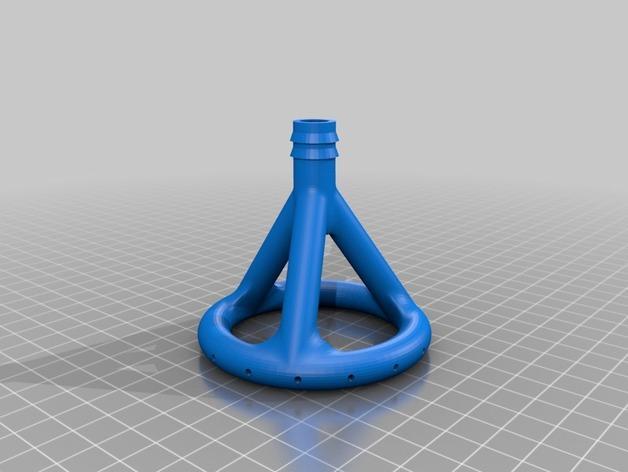 免费水培系统 -- 喷水头 3D模型  图3