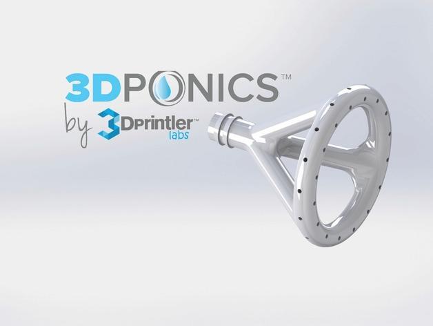 免费水培系统 -- 喷水头 3D模型  图4
