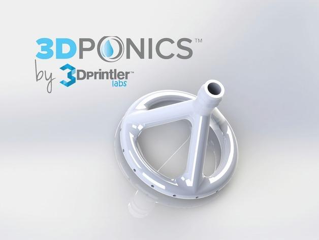 免费水培系统 -- 喷水头 3D模型  图5