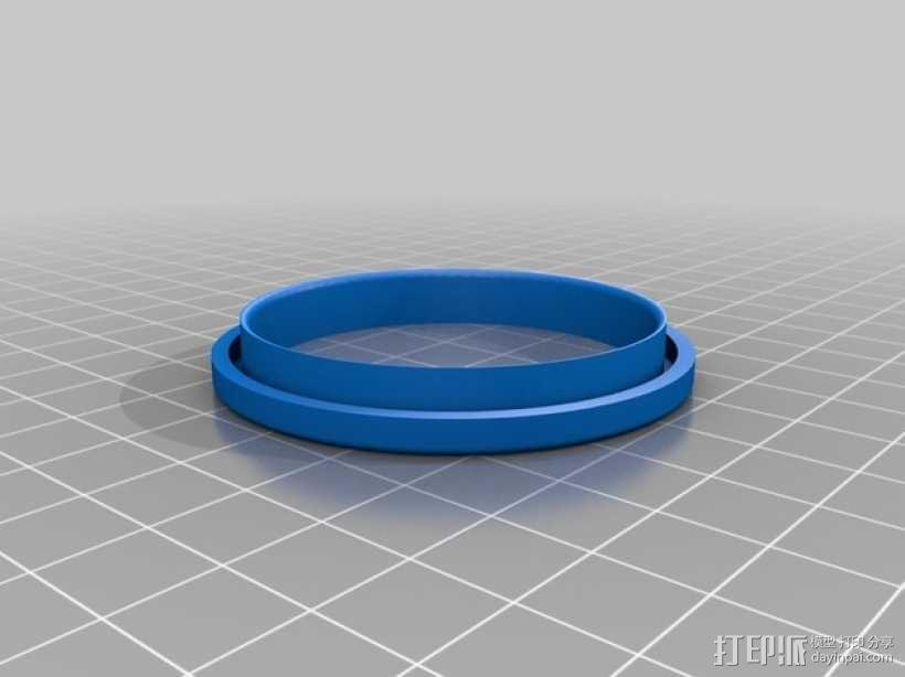 易拉罐笔筒 3D模型  图3