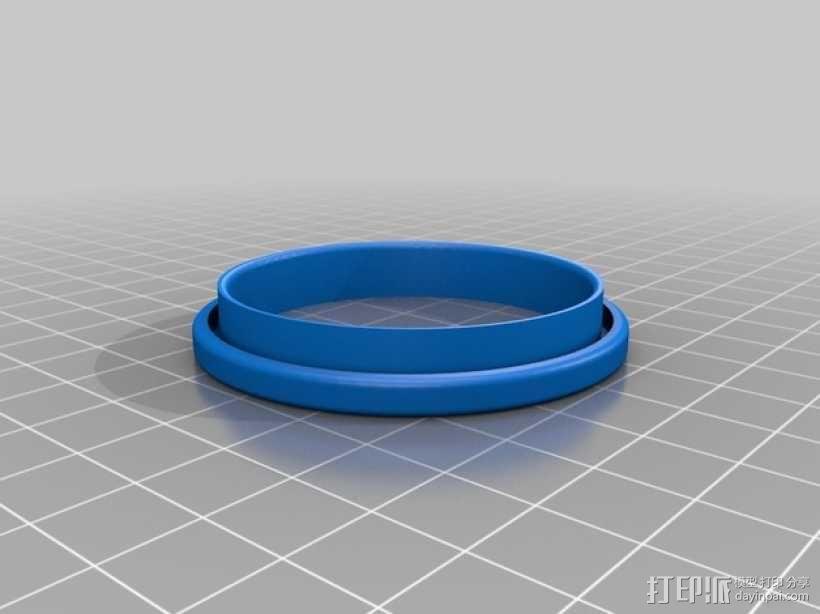 易拉罐笔筒 3D模型  图4