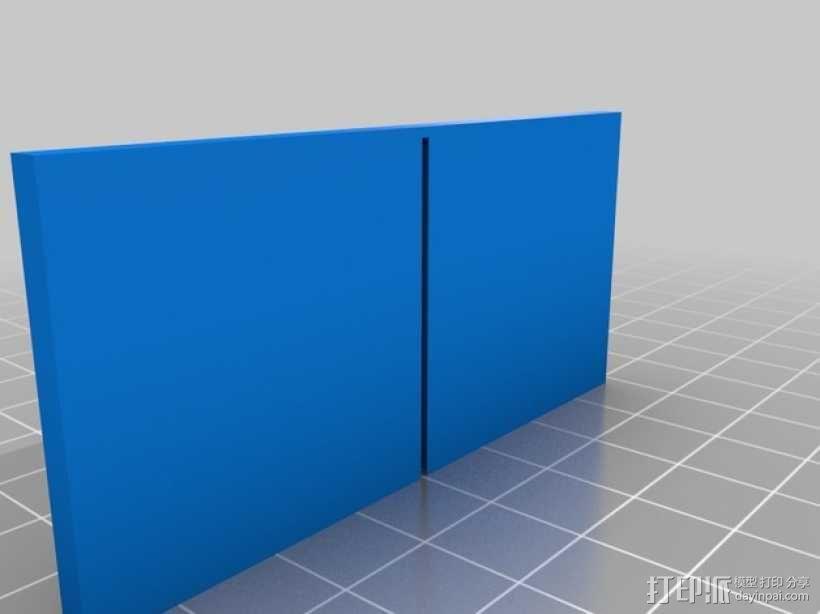 参数化OBI盒子分隔板 3D模型  图1