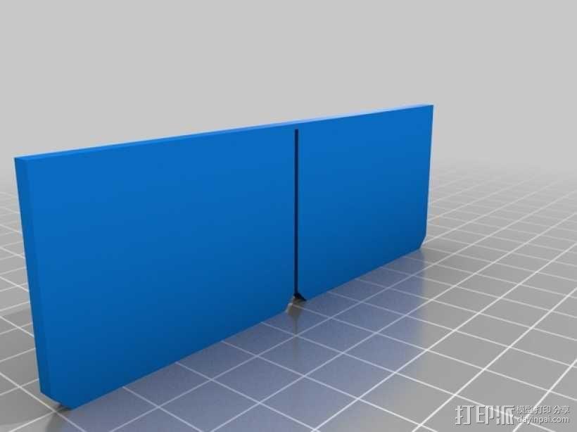 参数化OBI盒子分隔板 3D模型  图3