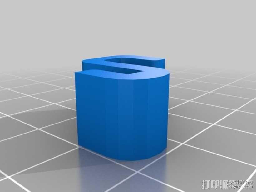 笔筒/工具架 3D模型  图3