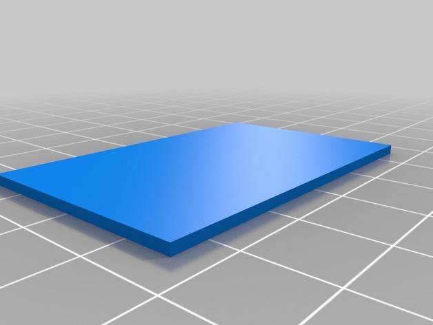 小盒分隔板 3D模型  图3