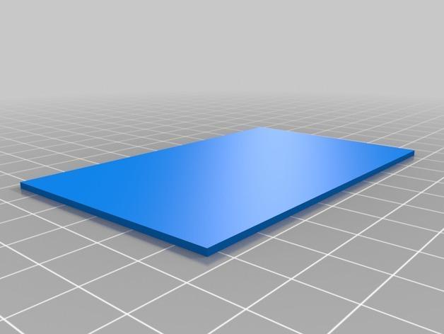 小盒分隔板 3D模型  图2