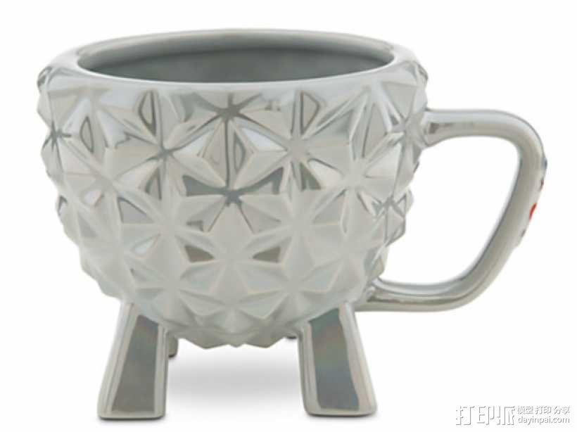 迪士尼EPCOT水杯/马克杯 3D模型  图1