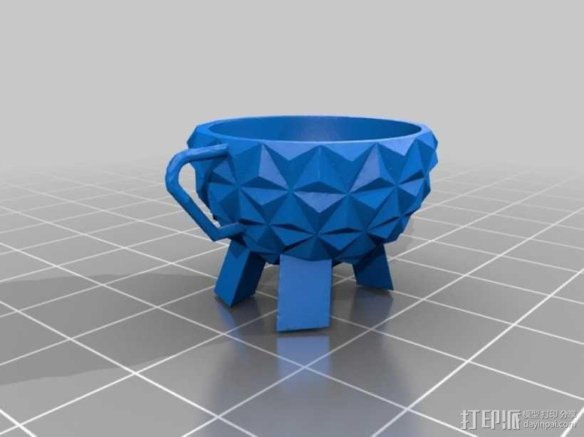 迪士尼EPCOT水杯/马克杯 3D模型  图4