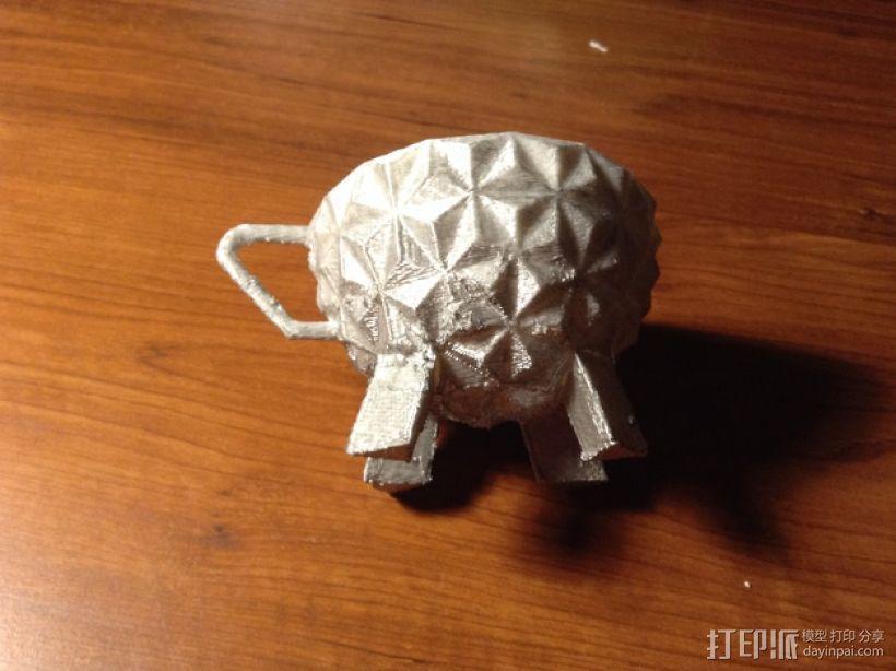 迪士尼EPCOT水杯/马克杯 3D模型  图10