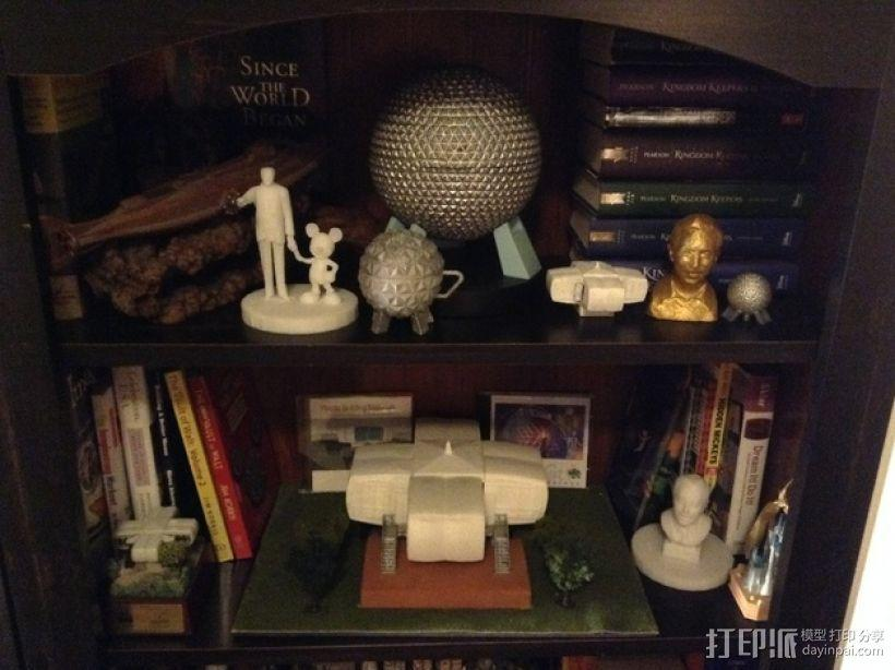 迪士尼EPCOT水杯/马克杯 3D模型  图12
