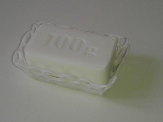 镂空肥皂盒 3D模型  图3