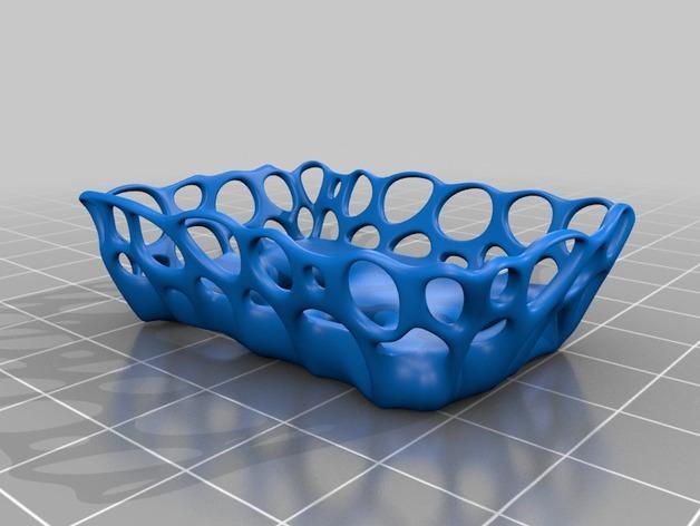 镂空肥皂盒 3D模型  图2