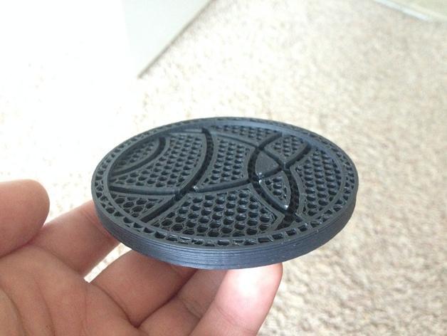 咖啡杯杯垫 3D模型  图2