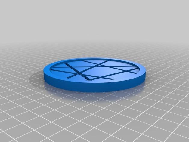 咖啡杯杯垫 3D模型  图4