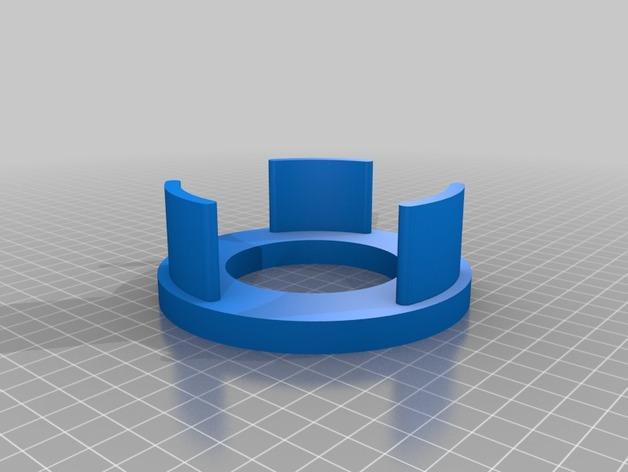 咖啡杯杯垫 3D模型  图5