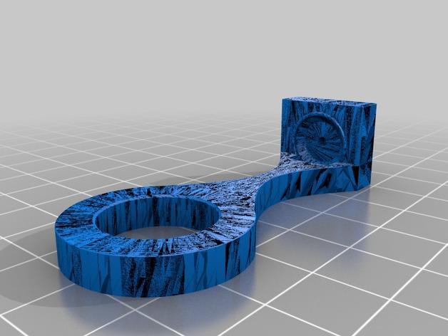 PVC管挂钩 3D模型  图2