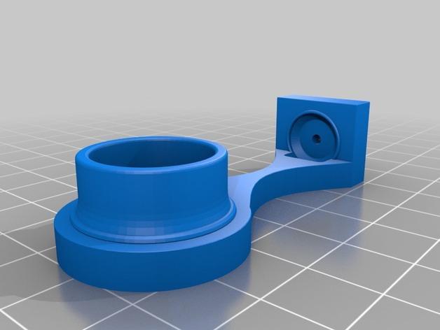PVC管挂钩 3D模型  图3