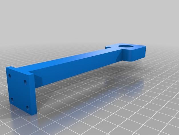 壁挂式风速计 3D模型  图3