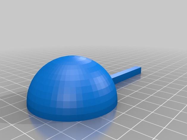 壁挂式风速计 3D模型  图5
