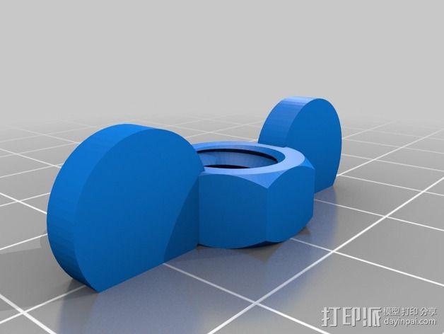 壁挂式风速计 3D模型  图4