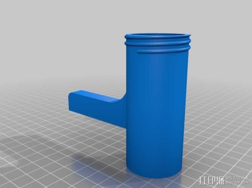 食物刨丝机/切片机 3D模型  图4