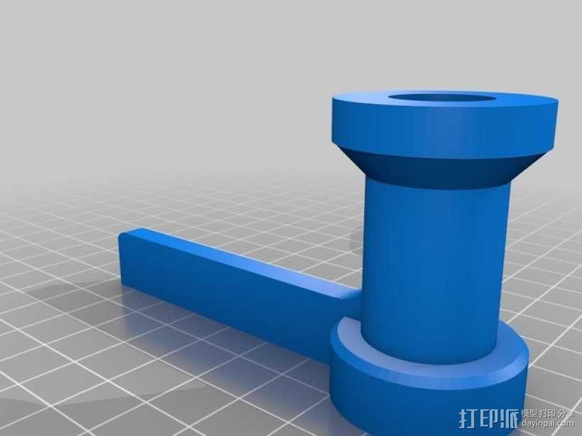 食物刨丝机/切片机 3D模型  图3