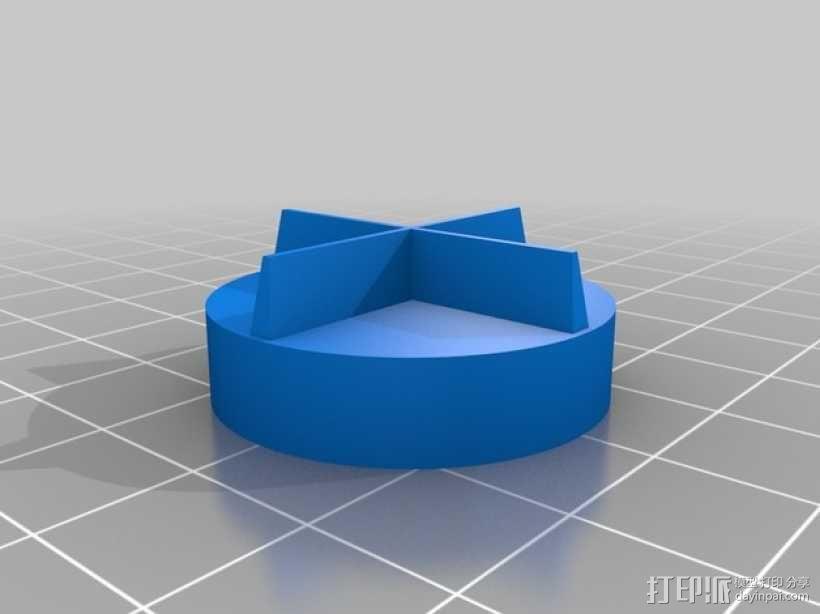 食物刨丝机/切片机 3D模型  图6