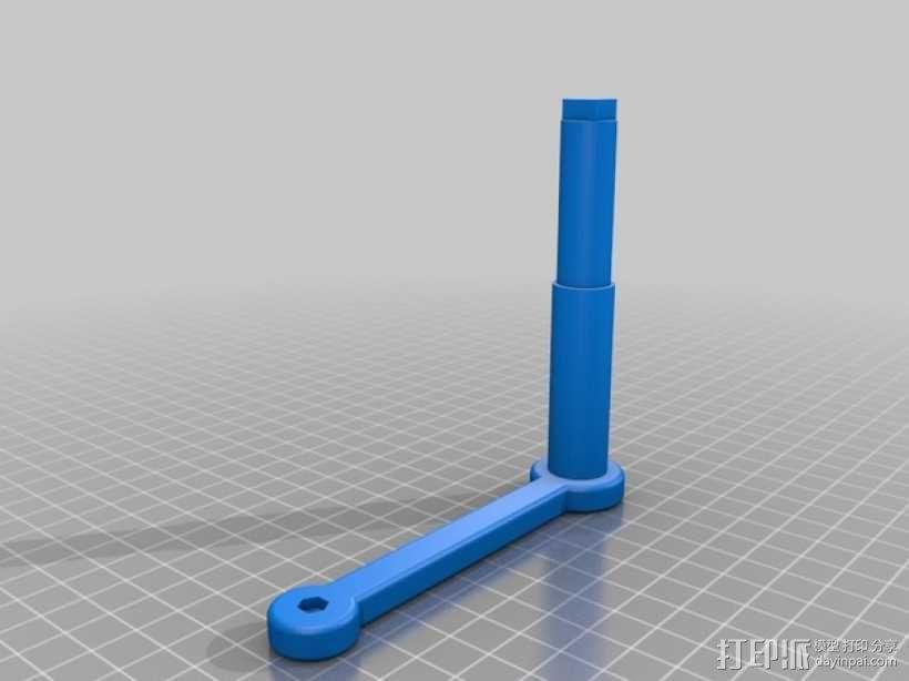 食物刨丝机/切片机 3D模型  图8