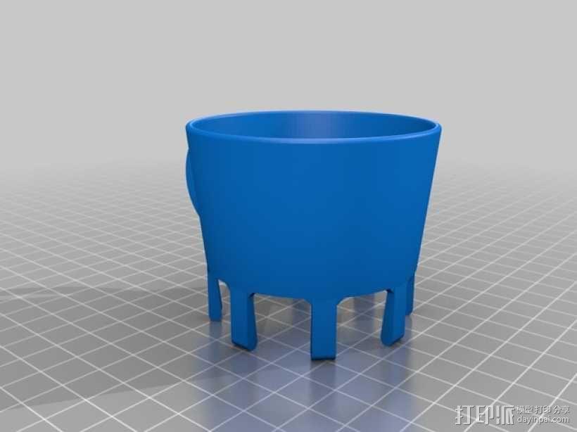 纸杯杯架 3D模型  图2